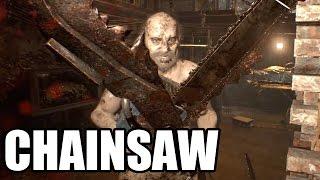 RESIDENT EVIL 7 - Jack Baker Chainsaw Fight / Boss Fight