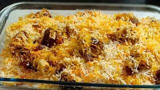 Mutton Biryani | Lucknow famous Idris Restaurant Style Mutton Dam  Biryani |