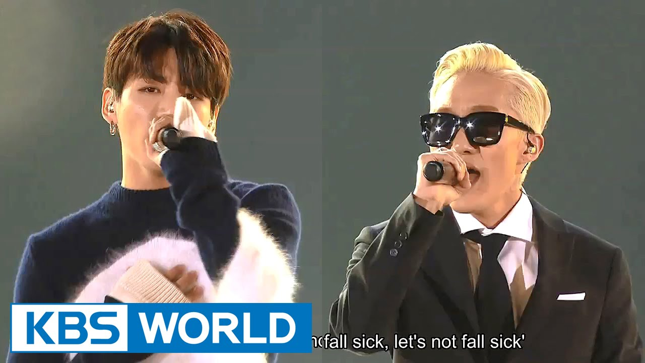 Zion T & JungKook - Yanghwa BRDG [2015 KBS Song Festival / 2016 01 23]