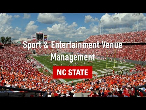 Online Graduate Certificate in Sport and Entertainment Venue Management –  NC State University
