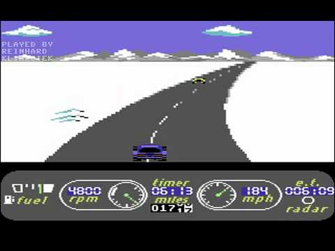 C64 Longplay - The Great American Cross-Country Road Race