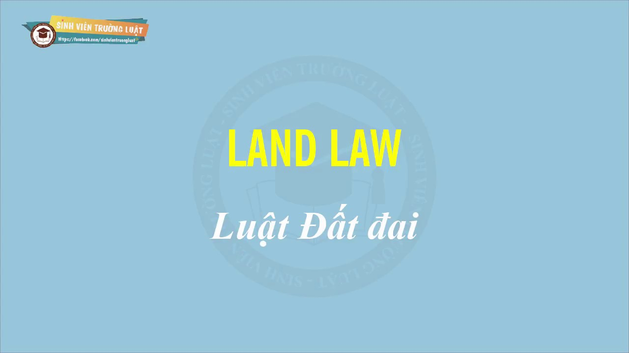 Một vài thuật ngữ Tiếng anh về Luật Đất đai