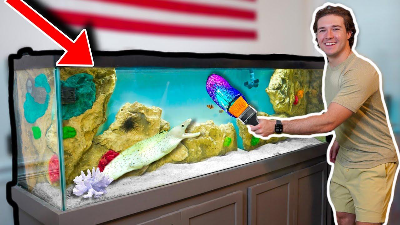 DESTROYING My Fish Aquarium...What happened?