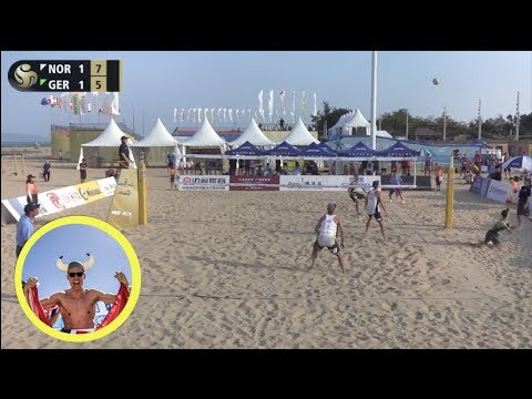 Mol.A/Sorum (NOR) vs. Thole/Wickler (GER) 2019 FIVB Xiamen Pool Play