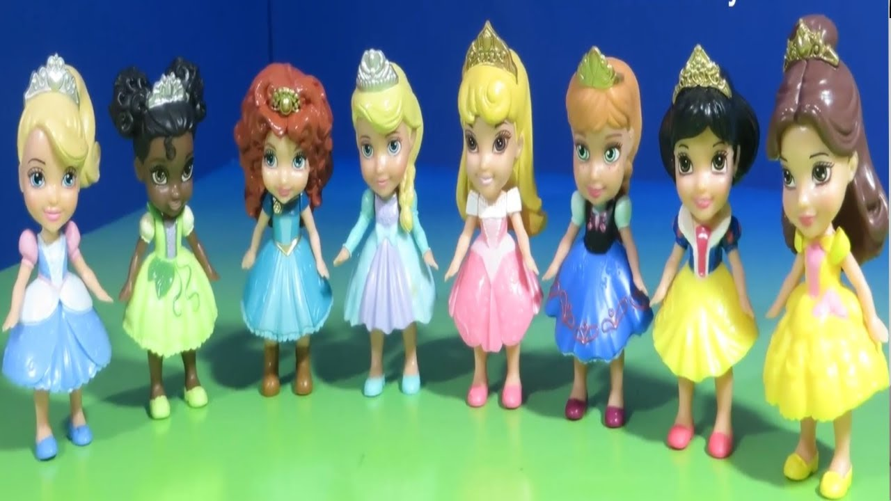 My First Disney Princess Mini Toddler Anna Elsa Cinderella Ariel
