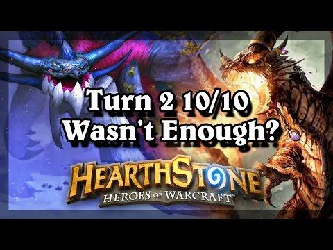 Hearthstone - Turn 2 10/10 wasn