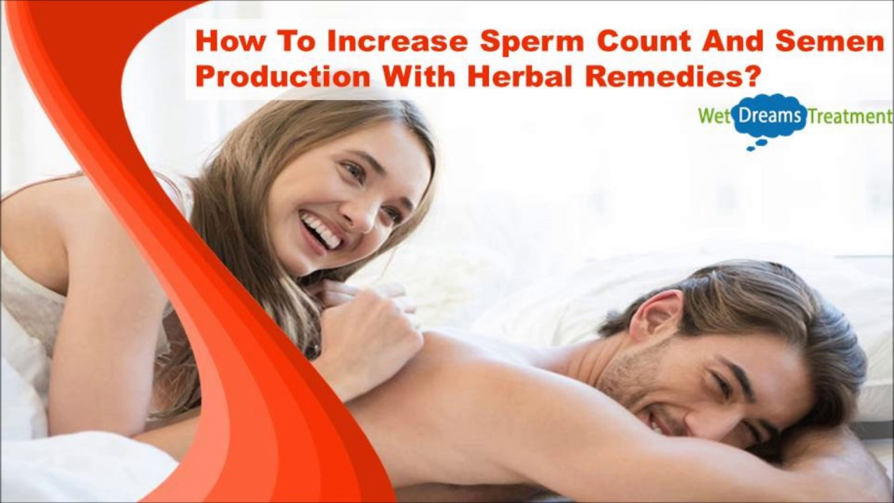 Product to increase sperm count, being shaved below