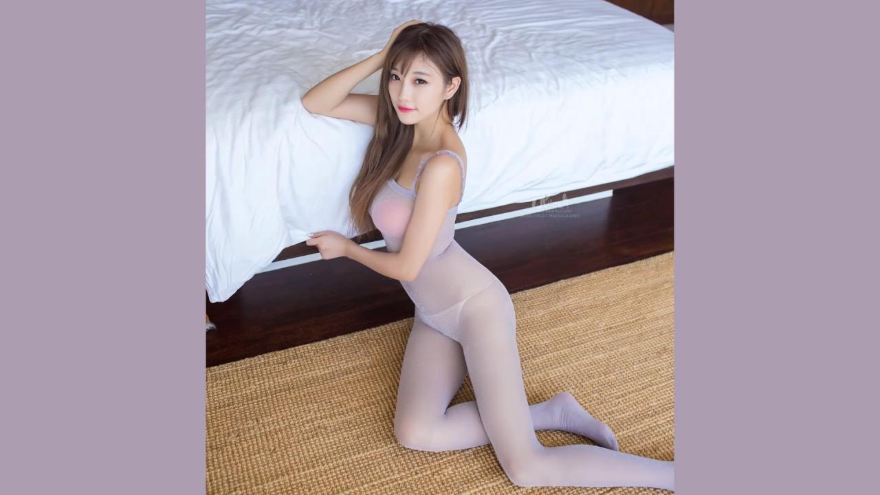 lovely girl in luxury fishnet bodystocking - youtube
