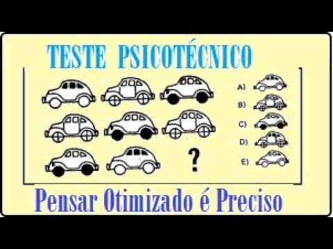 Download Teste Lógico - Psicoteste  - TESTE PSICOTÉCNICO