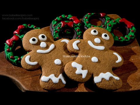 The BEST Gingerbread Men Cookies Recipe Ever