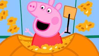 Peppa Pig Full Episodes | Pumpkin Panic | Kids Video