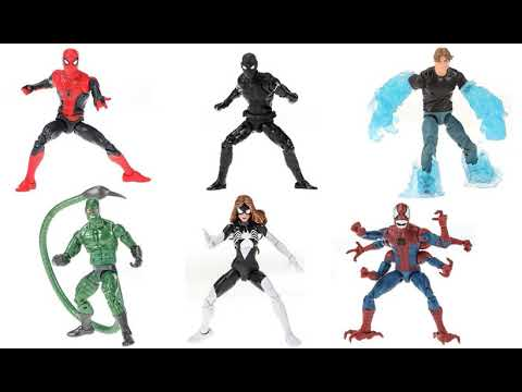 Marvel Legends Spider-Man Far From Home Hydro Man Action Figure Hasbro