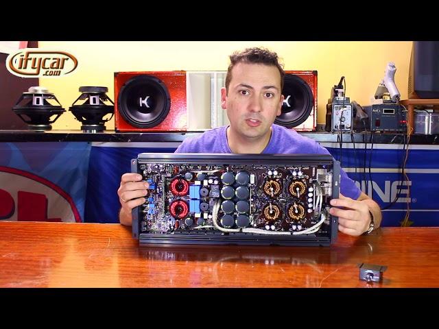 Amplificador SPL Dynamics D4s