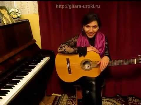 © Как играть на гитаре правильно аккорд G (соль мажор). ШКОЛА ЮДИНОЙ