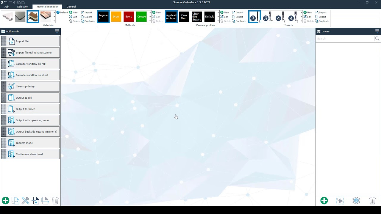Summa GoProduce Tutorial / 2  Main screen
