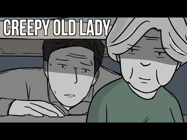 I Stayed At A Creepy Old Lady's House and Then Escaped!
