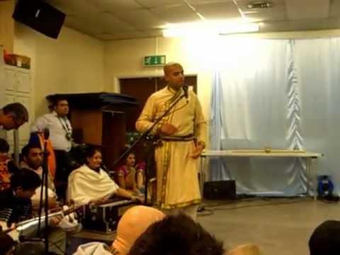 ISKCON LEICESTER Dance Presentation Gaura Purnima 2013