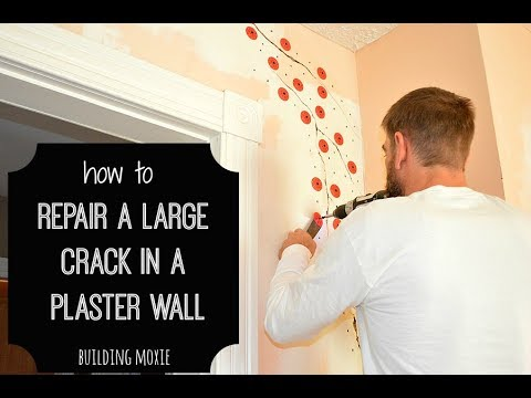 How To Repair A Large In Plaster