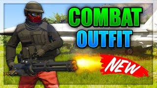 GTA 5 ONLINE - *NEW* BEST COMBAT/SPEC OPS OUTFIT! Patch.1.43 (GTA Online Combat Outfits)