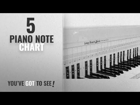 Top 10 Piano Note Chart [2018]: Practice Keyboard & Note Chart for Behind the Piano Keys