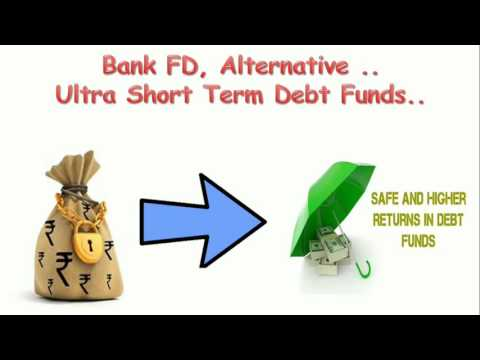 Bank FD Alternative / Ultra Short Term Debt Fund/Best Fund in India