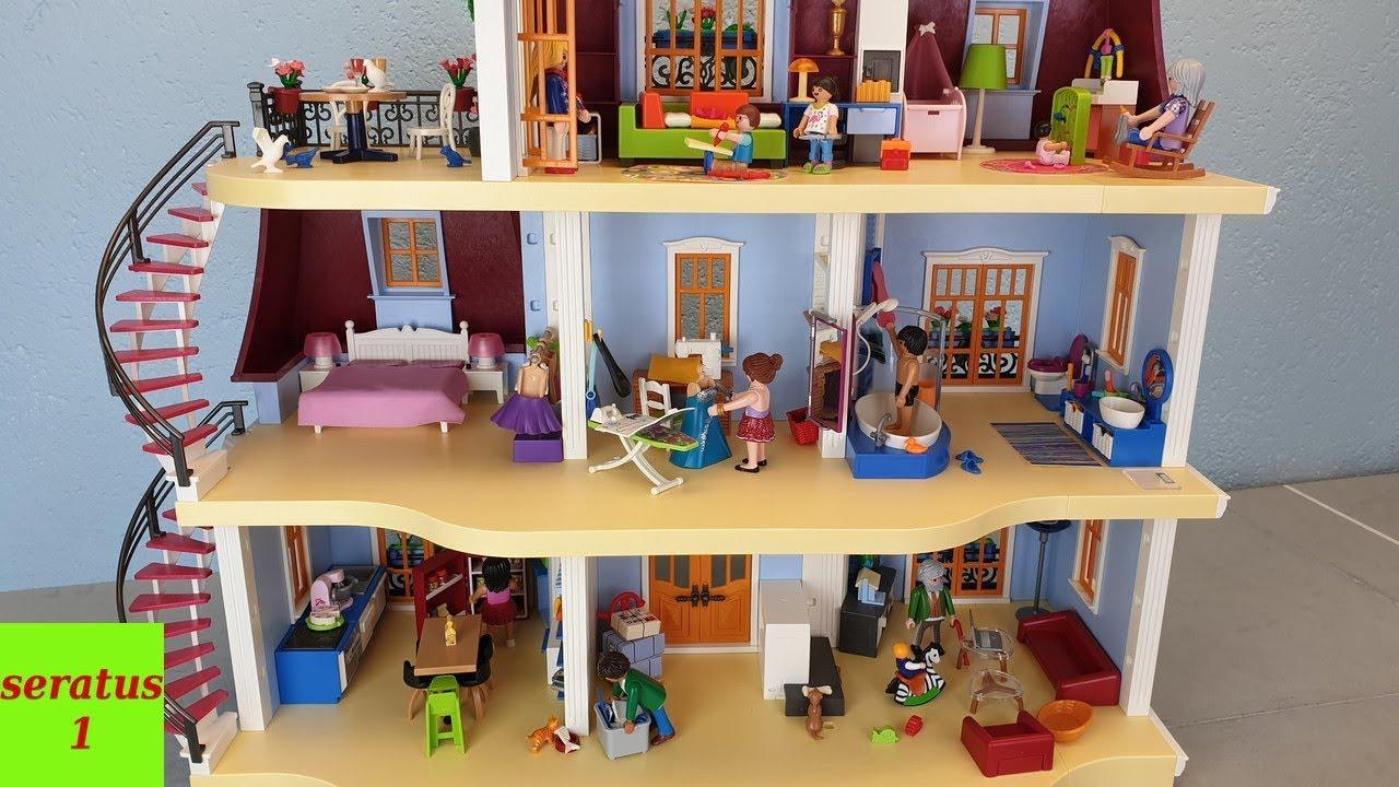 playmobil mein großes puppenhaus 70205 komplett