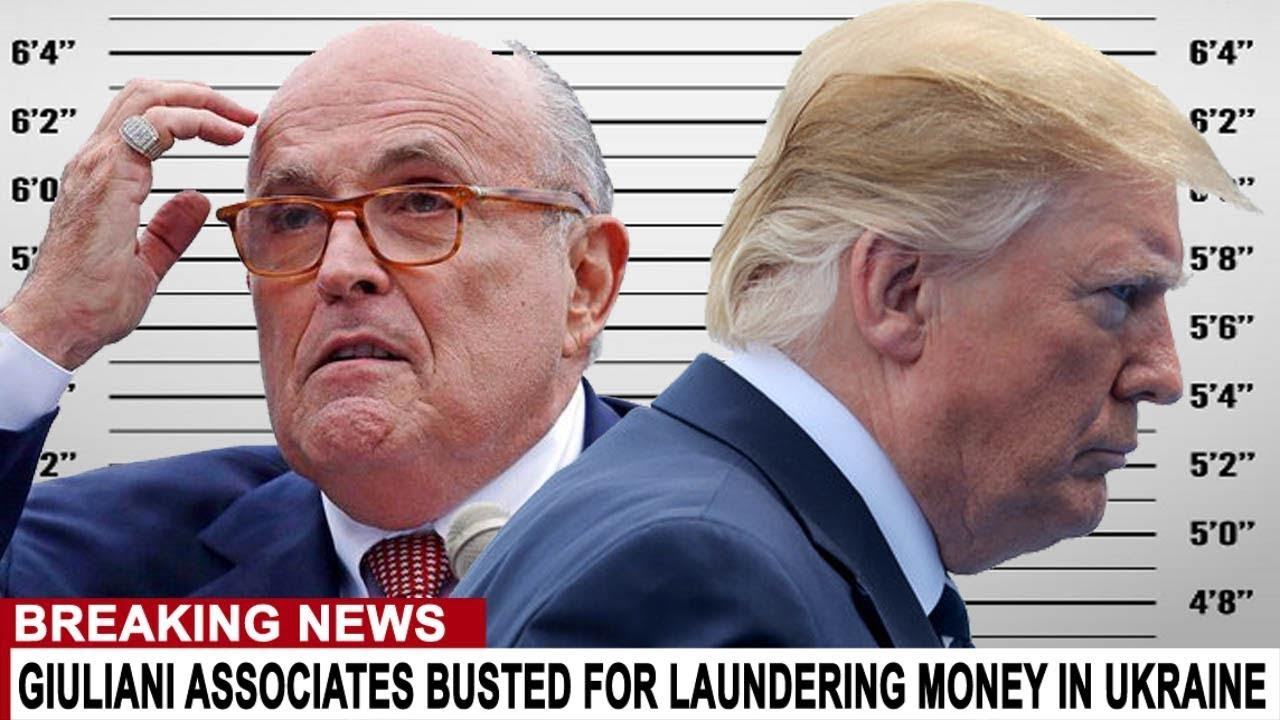 BREAKING: GIULIANI BUSTED LAUNDERING MONEY FROM UKRAINE INTO TRUMP'S RE-ELECTION CAMPAIGN