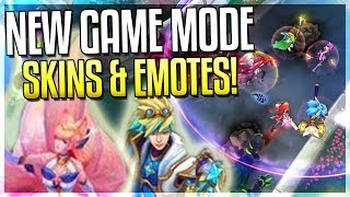 NEW 'INVASION' GAME MODE - NEW MAPS & STAR GUARDIAN SKINS (Ahri), EMOTES!! - League of Legends