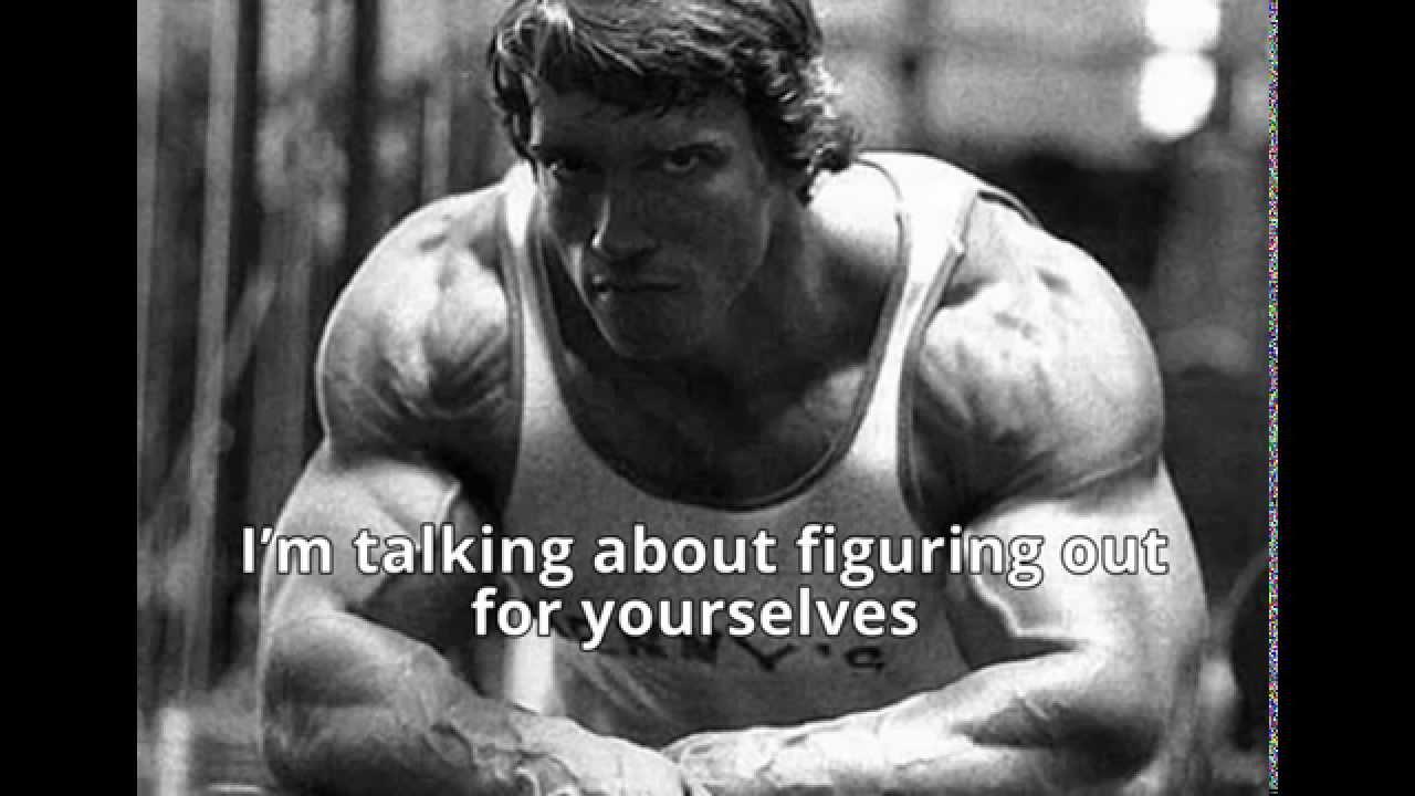 Arnold Schwarzenegger Motivation 6 Rules Of Success Speech
