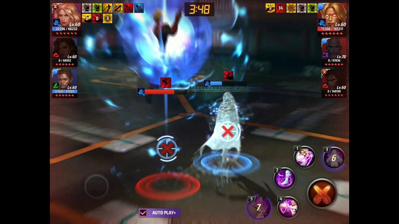 Emma Frost Vs Level 70 IW Thanosi Wolverine Adam Warlock