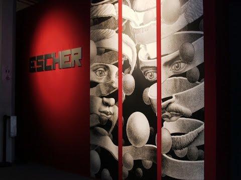 Artist M.C. Escher spent a lifetime distorting perspective