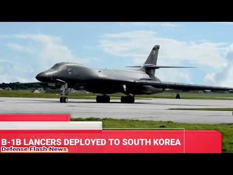 NORTH KOREA ALERT,  U.S DEPLOYS ADVANCED MILITARY ASSETS TO SOUTH KOREA FOR JOINT DRILL