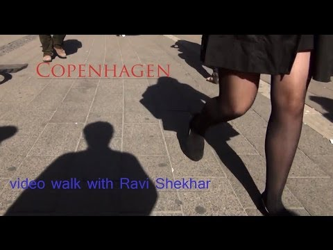 Video Walk Series- Copenhagen Denmark- a day out