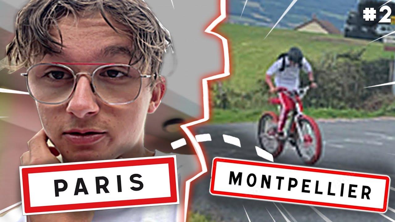 PARIS - MONTPELLIER EN BMX ! (700km) ep. 2