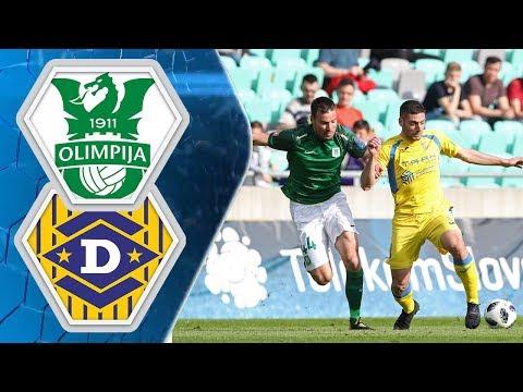 27. krog: Olimpija - Domžale 1:1 ; Prva liga Telekom Slovenije 2017/2018