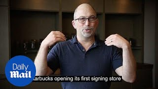 Starbucks announces opening of first US deaf signing store - Daily Mail