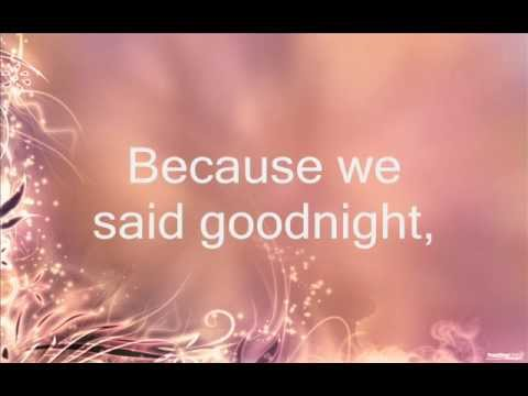 Evanescence Goodnight Lyrics