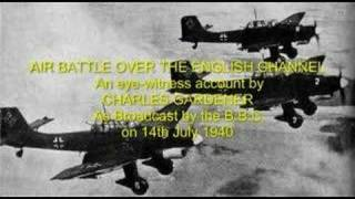Air Battle Over The English Channel (1940) World War II