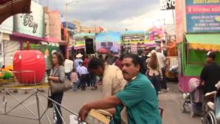 RECORRIDO DE LOS PUESTOS Y JUEGOS - Feria Villa Hidalgo 2015