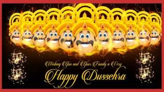 Happy Dussehra Wishes,Dasara 2016 Greetings,Images,Ecard,Animation,Messages,Whatsapp Video 2