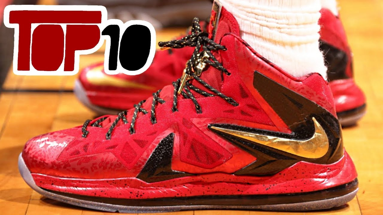 new arrival a2e8c 2346a Top 10 Best Shoes Lebron James Worn In The NBA Finals