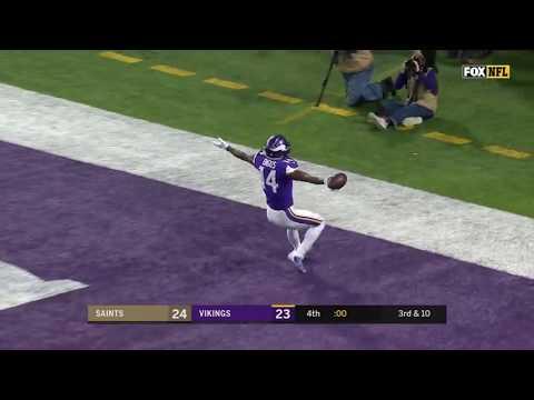 Minneapolis Miracle: Vikings win on Diggs' incredible 61 yard walk off TD