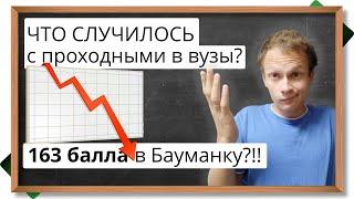 Что случилось с проходными баллами в вузы в 2020? В Москву на бюджет мог пройти каждый? Аналитика