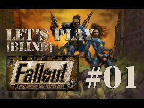 Let's Play Fallout 1 [blind](part 1 - Out Of Water)