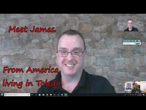 Meet James  From America to Toledo   LightSpeed Spanish