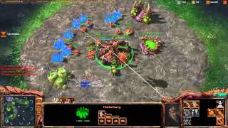 ROOTDestiny (Z) vs. Deezer (P) [Game 2] (Part 1/2) - Starcraft 2 Ladder