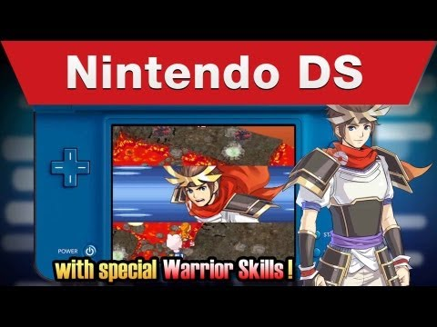 Nintendo DS - Pokémon Conquest E3 Trailer