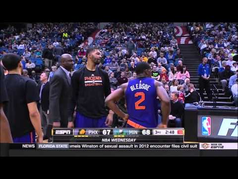 """""""Marcus Morris technical and yelling at Jeff Hornacek (1-7-15)"""""""