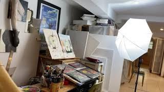Artist's studio visit