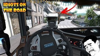 ★ IDIOTS on the road #59 - ETS2MP | Funny moments - Euro Truck Simulator 2 Multiplayer